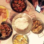 Dinner at Dampa Seafood Grill