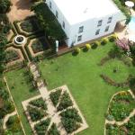 spectacular garden with formal elements, orchard, kitchen garden and plant collections