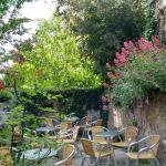 Cafe garden.
