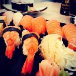 Assortiment de sushis ... Et que de bonnes surprises !!!