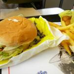 Burger from Arctic Circle, Newport OR