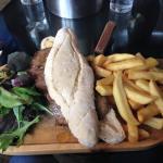 Beef and Stilton Baguette
