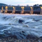 Impressive Falls in Grand Falls NB