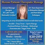 Maxine Putnam Therapeutic Massage