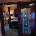 Interior of the Honeymoon Suite, bedroom