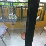 Балкон в номере.