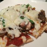 Spicy sausage pizza-warning, it is spicy! Love it!