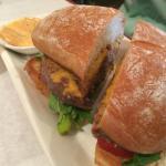 Buffalo Burger-delicious!