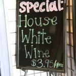 Special House White Wine!  Namu Korean and Western Grill  |  1303 Mayor Magrath Drive South, Let