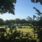 Morning sun rises over Leadstone Camping