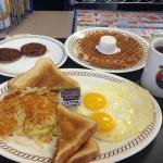 Delicioso desayuno americano