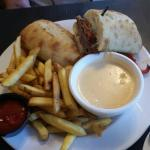 Philly Cheese Beef dip, Max Restaurant - Park Place Lodge  |  742 Highway #3, Fernie, British Co