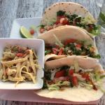 Fish tacos - very tasty!