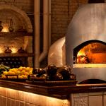 Taboon's taboon - the traditional wood-fired, some shaped oven of the Middle East