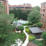 Courtyard view from 4th floor
