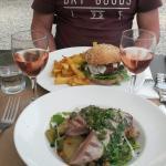 lamsburger en tonijn