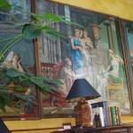 Mural in lobby