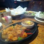 BBQ Shrimp Fajitas