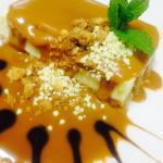 Caramel toffe cheese cake