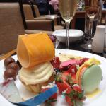 The champagne brunch! The food is just amazing! Free flow of Tattinger by friendly, helpful staf