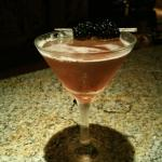 "Now available at Trattoria Italiana  ""Sheer Passion"" Martini"