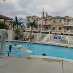 Take a look at my pics. The dolphin Inn will be my go to place when I vacation in Wildwood.