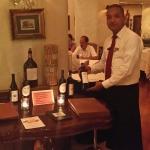 Excelente comida y vinos