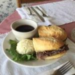 French Dip on our new Baguette