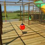 Giant Play Fort swing rope
