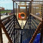 Giant Play Fort net bridge