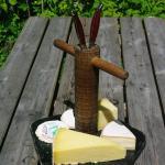 Plateau de fromages de notre région