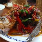 Thai Sweet & Sour Sea Bass