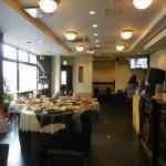 2階の朝食会場