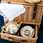 Traditional English Picnic with T Bone China