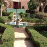 Inner courtyard & garden area