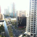 Streets of Surfers Paradise, I love this city view of Gold Coast!