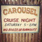 Cruise Nights Every Saturday Night- old time cars & clam cakes!