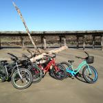 Beach bikes for rent