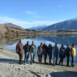 In front of Lake Wanaka
