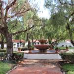 Jardin central de la Mision