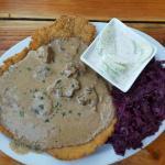 Pork - Jäger Schnitzel