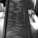 27 inch menu