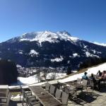Aussicht und Panorama oberhalb Klosters