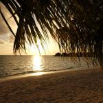 Sonnenuntergang im Nord-Westen der Insel.