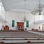 the interior of St Stephen's