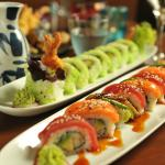 Rainbow roll the most delicious sushi we have ever designed!