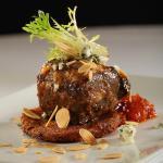 Grilled baseball cut steak by Chef James Gavin