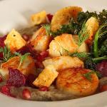 Seared scallop by Chef James Gavin