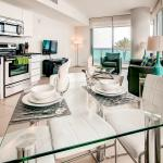 Ocean Front Apartment Suite fully-equipped gourmet kitchen
