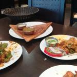 Tasty Dosa and Paneer